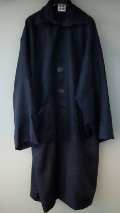 Gorgeous Cobalt Blue Linen Duster Coat by UlricDesign on Etsy