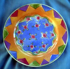 Sango Sweet Shoppe Sue Zipkin Design Apple Strudel 3025 Salad Plate