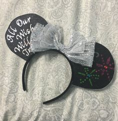 A personal favorite from my Etsy shop https://www.etsy.com/listing/385776058/wishes-inspired-minnie-ears