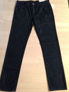Guess Slim Taper Ethan Fit Dark Skinny Jeans Marcel Fit Men's Size 33 X 32 NWT #GUESS #SlimSkinny