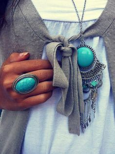 turquoise style by margarita