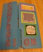 Lapbook to prepare for the Sacrament of Confession or just learn more about the sacrament