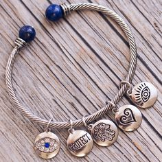 Protect Me Charm Bracelet - Silver