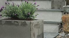 Bygg blomsterkasser i betong selv