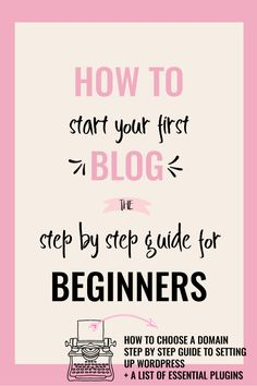 How To Start a Blog: A Step by Step Guide for Beginners. An easy to follow & detailed guide on exactly how to start a blog, purchase hosting & step up WordPress. It also includes a list of useful resources & plugins. via @creativencoffee