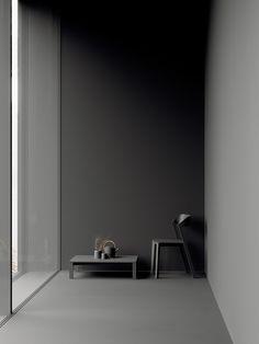 Minimal Home Decor Design Black Interior Design, Modern Interior Design, Interior Design Inspiration, Minimal Home, Minimal Decor, Minimalist Interior, Minimalist Design, Dark Interiors, Interiores Design