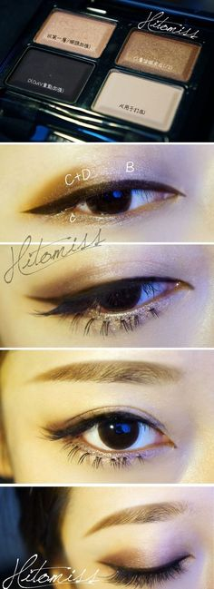 Korean Eyes Makeup Tutorial Pin Amber Barnes On Korean Makeup In 2018 Makeup Korean Korean Eyes Makeup Tutorial Korean Makeup Tutorial Korean Site. Korean Eyes Makeup Tutorial Beauty Tutorial How To Do Korean Eye Makeup Beautifulbuns . Korean Makeup Tips, Asian Eye Makeup, Korean Makeup Tutorials, Smokey Eye Makeup, Makeup Eyeshadow, Winged Eyeliner, Korean Eyeliner, Smoky Eye, Chinese Makeup