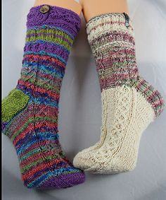 Hettie's #Socks pattern by Isabella Zipperer