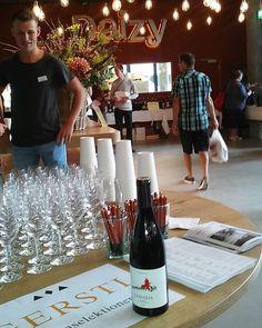 "Losada heute in Käsemarkt & Wein ""Chäs & So"" #mencia  #dobierzo #grapes…"