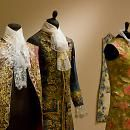 These 18th century mens' garments are completely made from paper.  Even the lace!