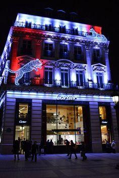 Cartier illumination, Paris