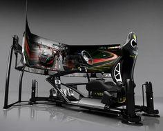 Vesaro Motion Racing Simulator... Computer Gaming Room, Computer Build, Computer Workstation, Gaming Room Setup, Computer Setup, Pc Setup, Computer Case, Computer Station, Computer Gadgets