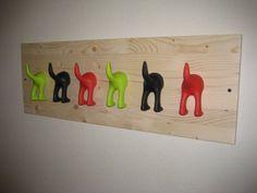 Dog butt coat rack | IKEA Hackers: Hackeas: It's butts today