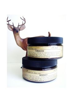 old-fashioned wet shave soap in a jar, $15