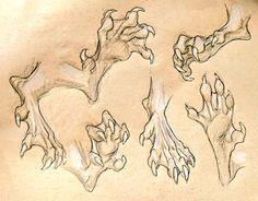 creature feet