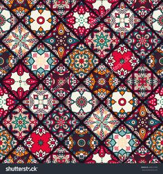 Seamless Pattern. Vintage Decorative Elements. Hand Drawn Background. Islam, Arabic, Indian, Ottoman Motifs. Perfect For Printing On Fabric Or Paper. Imagen de archivo (stock) 449531059 : Shutterstock