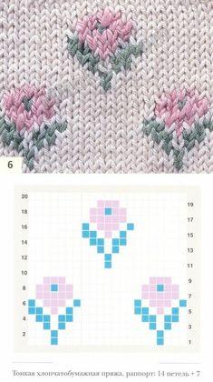 Baby Knitting Patterns, Knitting Charts, Knitting Designs, Knitting Stitches, Crochet Patterns, Fair Isle Chart, Fair Isle Knitting, Crochet Projects, Cross Stitch Patterns