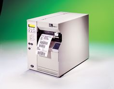The 105  SL is a Thermal transfer or direct thermal mode, printer. Mid-range industrial printer, very strong metal case. Designed by experienced users, ideal for printing moderate to high volumes. Ideal for Manufacturing,  Transportation and Logistics,   Healthcare,  Retail and Distribution, and   Public Services Industries Zebra Label Printer, Printers, Transportation, Health Care, Public, Retail, Industrial, Strong, Range