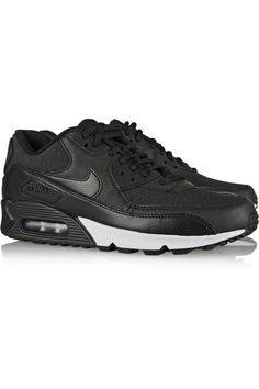 best service e19e9 c4eac Nike - Air Max 90 leather and printed jacquard sneakers