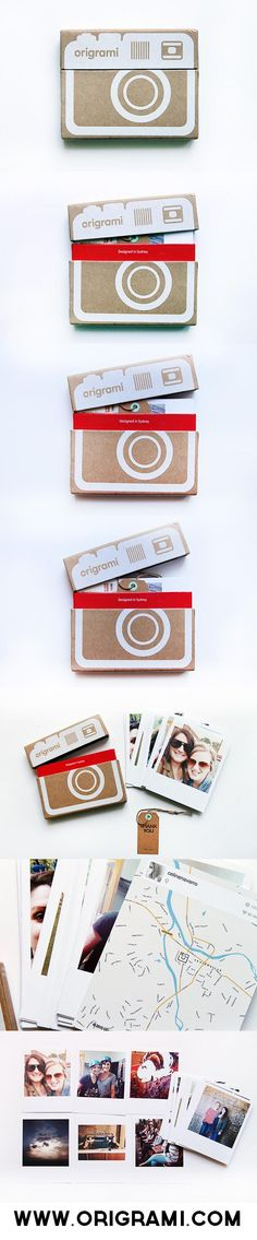 The Green Frog Studio Homemade Gifts, Diy Gifts, Kino Box, Photo Polaroid, Paper Toy, Diy And Crafts, Paper Crafts, Idee Diy, Love Gifts