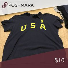 navy usa polo size XL usa polo Polo by Ralph Lauren Shirts Polos