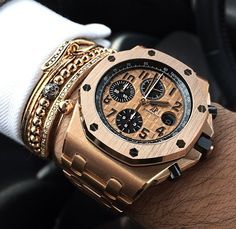 The Gold Standard - AP Royal Oak Offshore Chrono