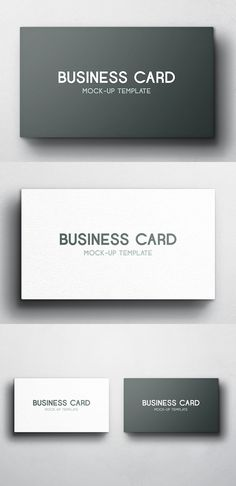 Free Business Card Mockup - Vol 4