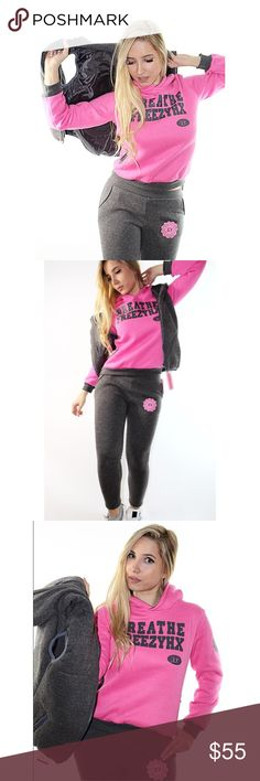 Stylish hooded three-piece suit BIG SALE this 3 piece for only $55 ThisStylish Hooded Three-Piece Suit For Women Perfect Outfit For Everyday. Warm and comfy.  Style : Active Length:Normal Material:Polyester, Cotton Pattern Type :Letter Pants Style:Straight Sweaters