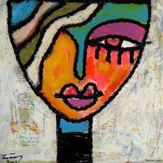 Pinzellades al món: Una mirada a la figura femenina africana: les il·lustracions de Taieb Ayat