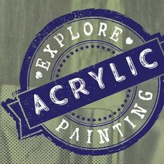 Discover acrylic painting techniques & free tutorials to fill your paintings with light and life.