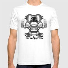 Policefalia T-shirt by rubenlorenzo Mens Tops, T Shirt, Supreme T Shirt, Tee Shirt, Tee