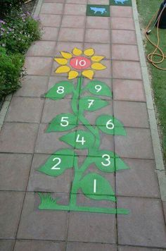Playground painting ideas - Aluno On Preschool Playground, Playground Games, Outdoor Playground, Outdoor Learning, Outdoor Activities, Activities For Kids, Outdoor Classroom, Classroom Decor, Toddler Classroom