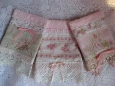 Shabby Cats and Roses: New Pretty Embellished Handtowels & Washcloths