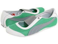 Puma Sneakerina.  I have these and love them!  But sadly, Puma no longer makes this style.  :(