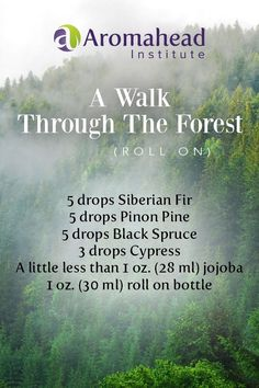 Bursting with aroma for times when you need to escape the stress at work, this roll on  createa that feeling of A Walk In The Forest!   Apply to your wrists and back of next and let the aroma take you away!