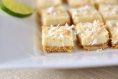 These from-scratch key lime bars are simple, fresh, light and absolutely delish. The perfect summer dessert for the lime lovers in your life!