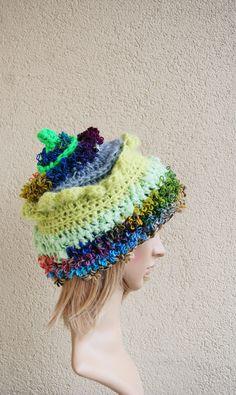 Fantastic GnomeForest Elf Pixie hatgirls by handmadestreet101