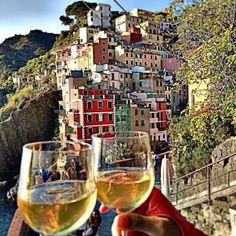 Hiking the 5 towns of the Cinque Terre is a must and you should reward yourself at the end with some vino. It's more difficult than it...