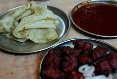 Akbar Chicken Centre. A superb chicken place near Charminar in Old City