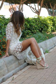 Shop this look on Kaleidoscope (dress) http://kalei.do/WyTJK3brTQW8INNp