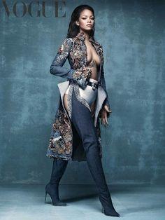 Rihanna for British Vogue Cover 2016