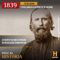 Diário de um Gaúcho Grosso: HOJE, DIA 22 DE JULHO, ANO DE 1839, REVOLUÇÃO FARR...