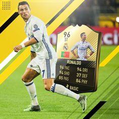#Ronaldo #FIFA17 Fifa 17 Ultimate Team, Fifa Games, Xbox Games, Football Video Games, Football Soccer, Games On Youtube, Coin Store, Ea Sports, Cristiano Ronaldo