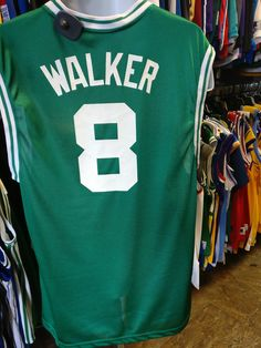 Vintage  8 ANTOINE WALKER Boston Celtics NBA Reebok Jersey M 809ec25d0