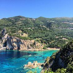 Dernière étape ☀️ #onestbien #Greece #corfu #paleokastritsa #summer #sun #beach #holiday #vacances #vacation