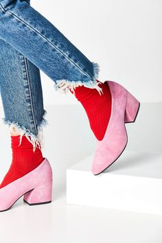 Vagabond Olivia Suede Heel | Urban Outfitters