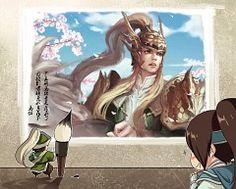 Chibi!Ma Dai, Chibi!Zhou Yun, Art!Ma Chao, Dynasty Warriors