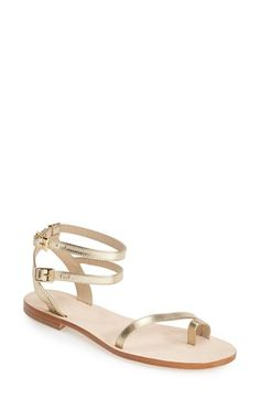 CORNETTI 'Carrubina' Leather Ankle Strap Sandal (Women) available at #Nordstrom