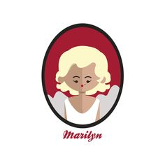 A fanart of the Hollywood Diva, the actress Marilyn Monroe.