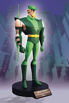 """Green Arrow — 9"""" (22.86cm) tall"""